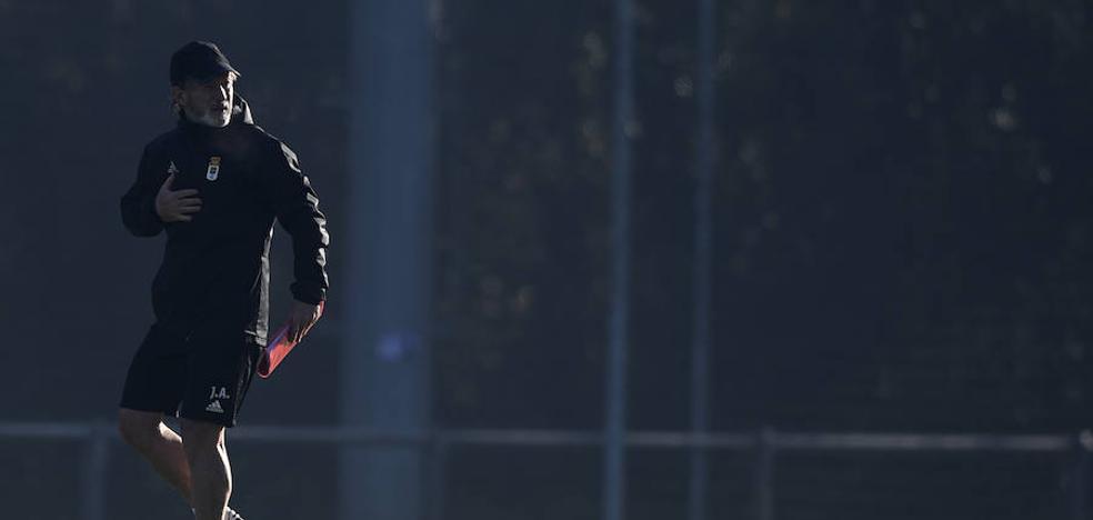 Real Oviedo | Anquela: «Hay que ser más sólidos, si no es muy difícil puntuar fuera de casa»
