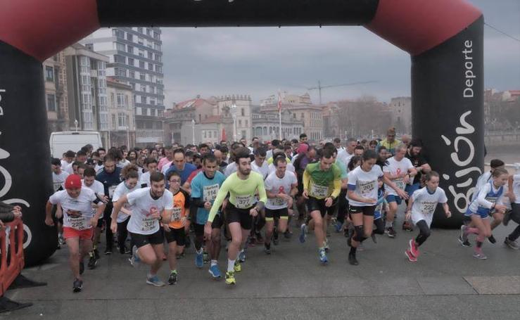 Gijón corre contra el sida