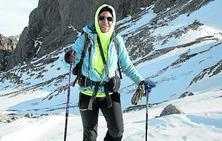 La iraní que rompió moldes en la alta montaña