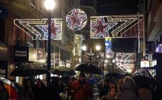 Gijón pulsa el botón de la Navidad