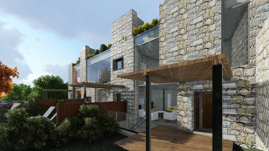 Así serán las viviendas de lujo en la quinta Vista Alegre de Gijón