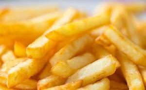 ¿Cuántas patatas fritas puedes comer por ración?