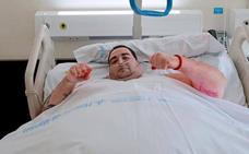 Teo, el joven con obesidad mórbida, recibe el alta tras adelgazar 95 kilos en tres meses