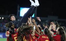 Las chicas de la sub-17, con una asturiana al frente, ganan el Mundial por primera vez