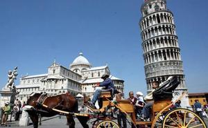 La Torre de Pisa, cada vez menos inclinada