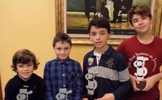 Nuevos campeones escolares de Gijón