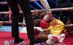 El boxeador Adonis Stevenson, en estado crítico tras un brutal KO