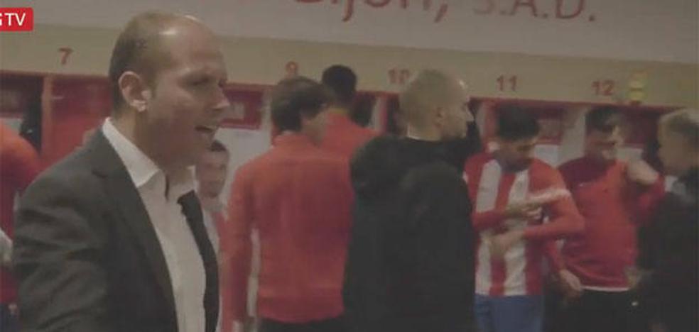 Sporting | José Alberto: «Nadie está viendo el partido, lo estamos sintiendo, lo estamos viviendo»