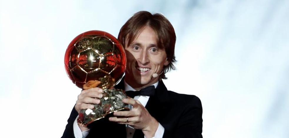 Modric rompe el duopolio Cristiano-Messi