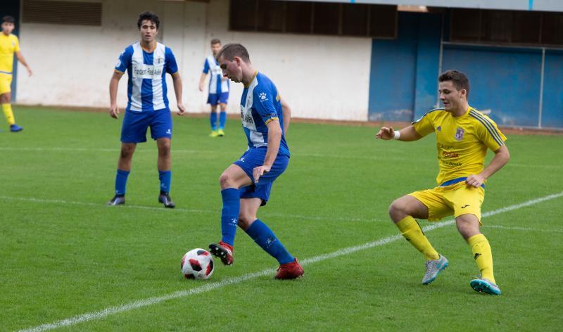 Real Avilés 0 - 0 San Claudio, en imágenes