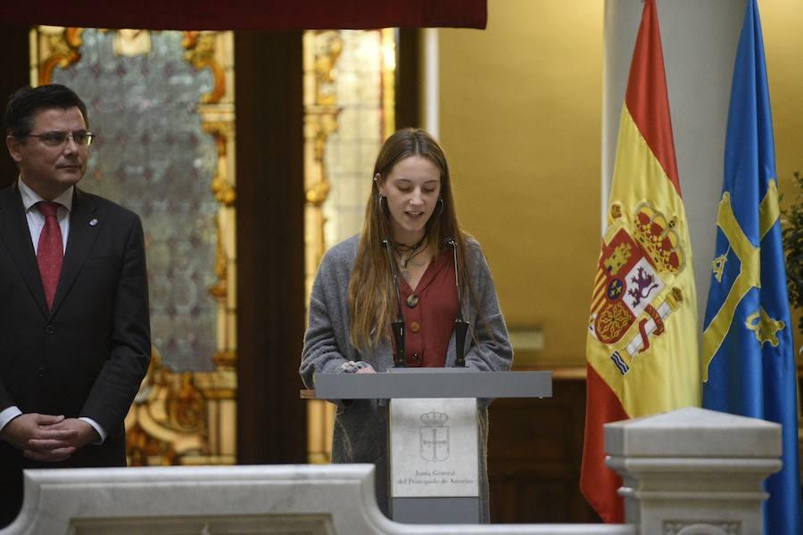 Asturias celebra el 40 aniversario de la Constitución