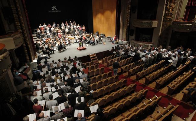 Un 'Mesías' con 140 cantantes aficionados