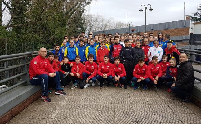 Los judocas asturianos, en el tatami del Grupo