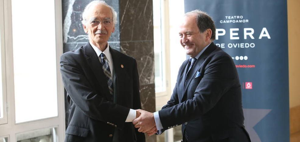 Juan Carlos Rodríguez-Ovejero, nuevo presidente de la Ópera de Oviedo