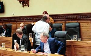 El momento más tenso en el debate sobre el estado del municipio entre el PSOE y Xixón Sí Puede