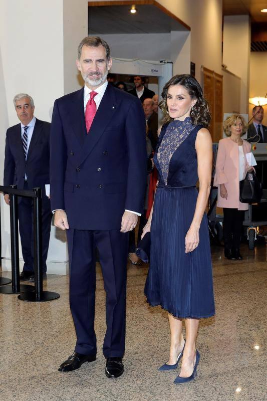Los Reyes presiden el concierto del 40 aniversario de la Constitución