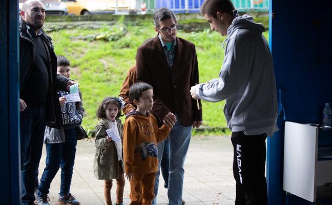 Los alumnos del Sabugo se dejan ver en el Suárez Puerta