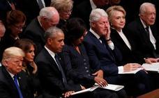 El mundo aparca sus diferencias para decir adiós a Bush