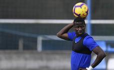 Ibrahima: «El fútbol es mental y estoy preparado para cualquier batalla»