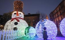 Oviedo enciende la Navidad