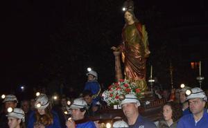 Cangas celebra «con esperanza» Santa Bárbara