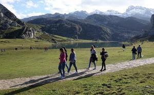 Así funciona el sistema de acceso a los Lagos de Covadonga que se estrena este puente