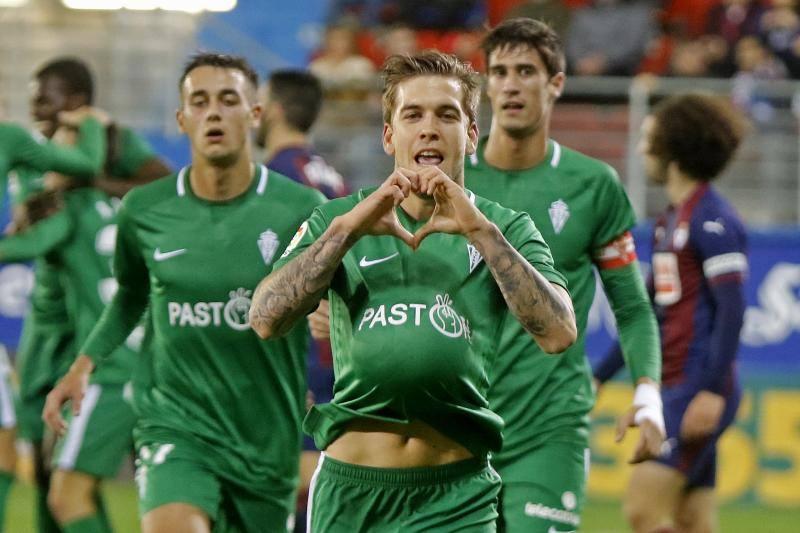 Las imágenes del encuentro de Copa del Rey Eibar – Sporting