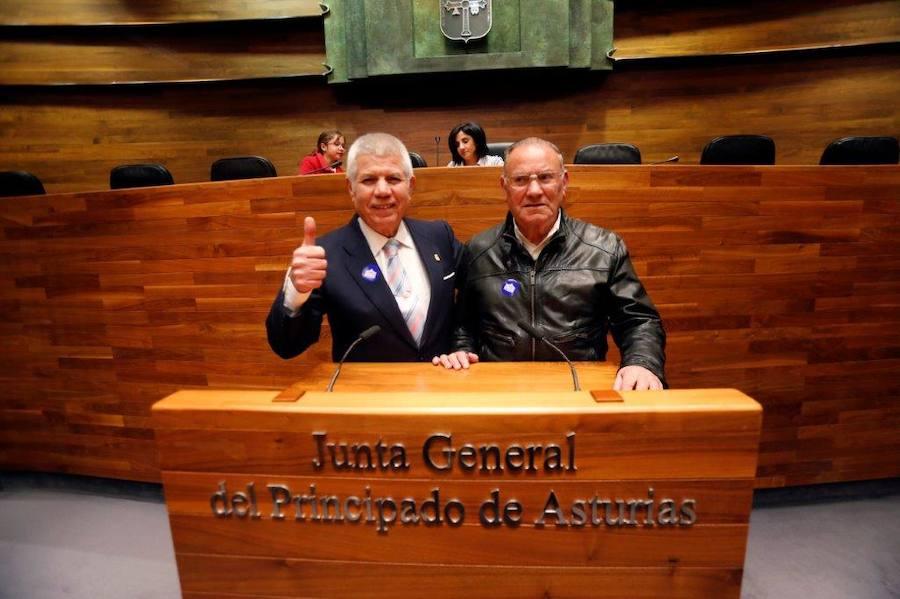 Jornada de puertas abiertas en la Junta General del Principado el Día de la Constitución