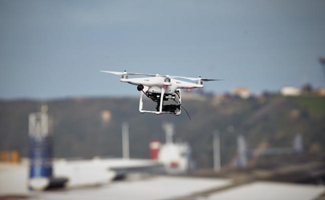 El Puerto y ArcelorMittal aún no tienen permiso para utilizar drones en sus instalaciones