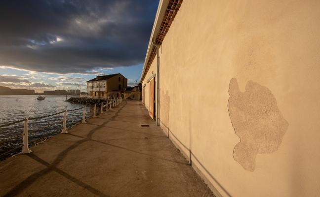 La apertura del Museo del Puerto se retrasa por el mal estado de dos de sus fachadas