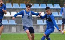 Anquela prepara el choque con siete jugadores del filial
