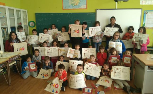 El colegio rural Ría del Eo repasa la Constitución al cumplir 40 años