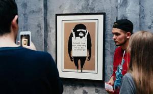 La primera exposición de Banksy en España reúne 70 obras del artista