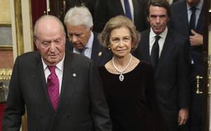 La Constitución reúne en el Congreso a la Política que la representan en sus 40 años de vida