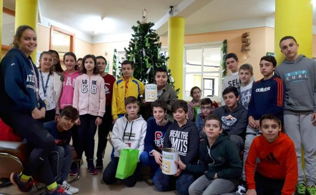 Árbol de Navidad solidario