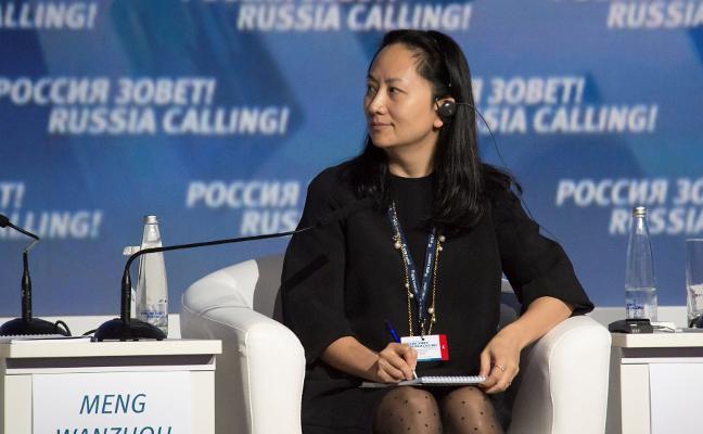 EE UU y China zabren otro frente con el arresto de la directora financiera de Huawei