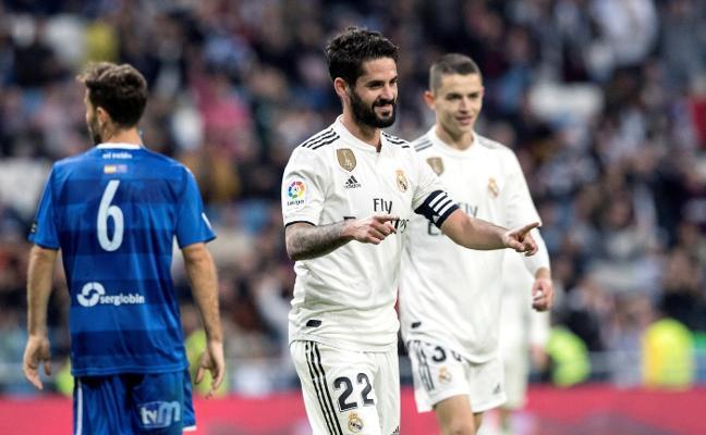 Fidalgo pone el acento asturiano al Real Madrid