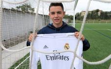 Álvaro Fidalgo: «Debutar en el Bernabéu es algo increíble. Estoy muy feliz»