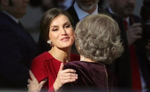 El revelador gesto de Letizia a la Reina Sofía que ha dado la vuelta al mundo