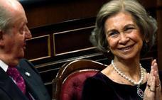 La espectacular joya que lució la reina Sofía el Día de la Constitución