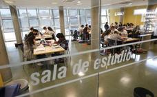 Las salas de estudio abrirán las 24 horas del día los fines de semana hasta el 20 de enero
