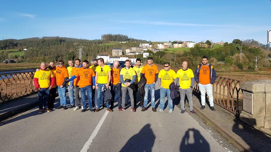 Huelga y marcha conjunta por el futuro de Alcoa