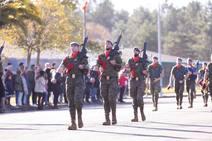 Parada militar en Cabo Noval