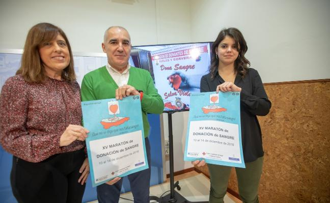 El maratón de donación de sangre arranca el lunes en el Ayuntamiento