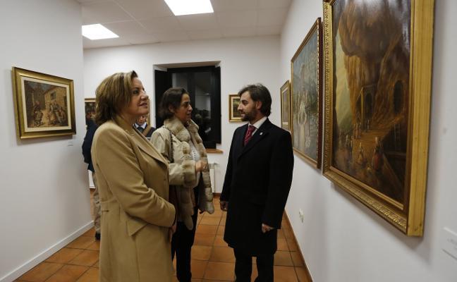 El museo de Viñón expone 33 pinturas de José Canellada