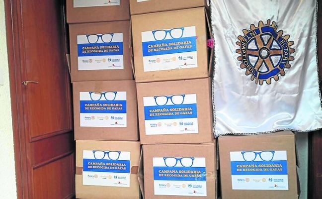 Recogida de gafas para Mensajeros de la Paz