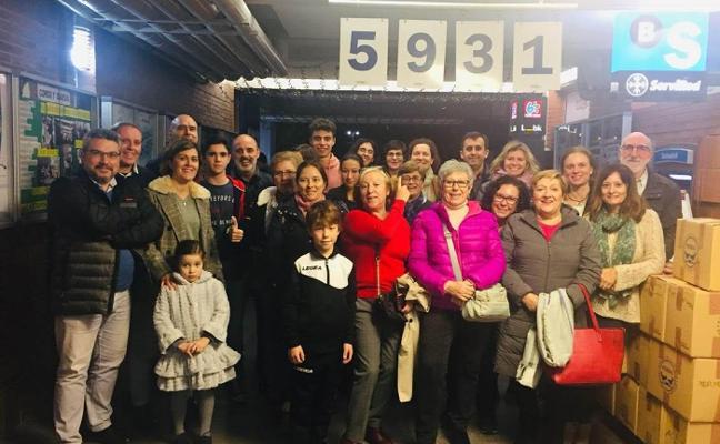 El Grupo Covadonga dona 5.931 kilos de comida al Banco de Alimentos
