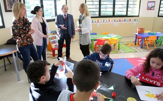 Los niños ya tienen su espacio en el centro social de Colloto