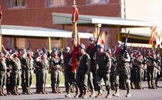 Parada militar en Cabo Noval por la Inmaculada