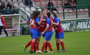 El Gijón FF quiere transformar en puntos su mejoría